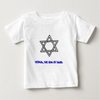 Star of David - Yeshua, The Son of David Baby T-Shirt