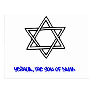 Star of David - Yeshua, The Son of David Postcard