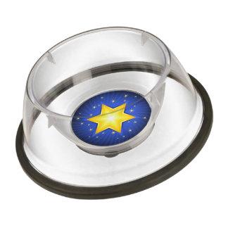 Star of David Pet Bowl