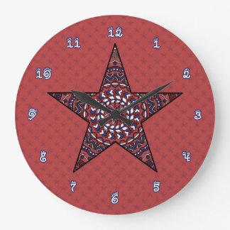 Star of Independence Clock