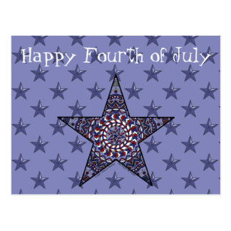 Star of Independence Postcard