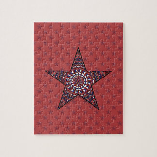 Star of Independence Puzzle