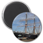 Star Of India At The San Diego Maritime Museum 2 Inch Round Magnet