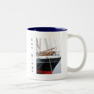 Star of India , San Diego, CA Two-Tone Coffee Mug