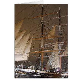 Star Of India Ship Card