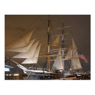 Star Of India Ship Postcard