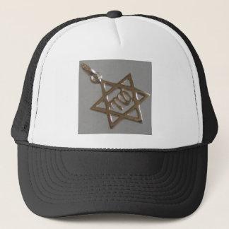 STAR OF JUDAISM.JEWISH STAR TRUCKER HAT