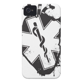 star of life anatomical heart iPhone 4 cover