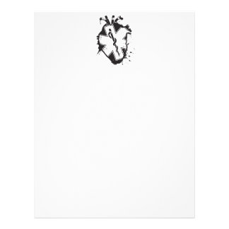 star of life anatomical heart letterhead