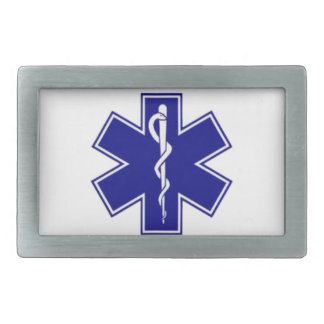 Star Of Life Belt Buckle