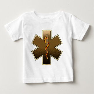 Star Of Life(Browns) Baby T-Shirt