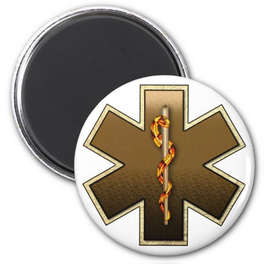 Star Of Life(Browns) Magnet