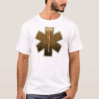 Star Of Life(Browns) T-Shirt