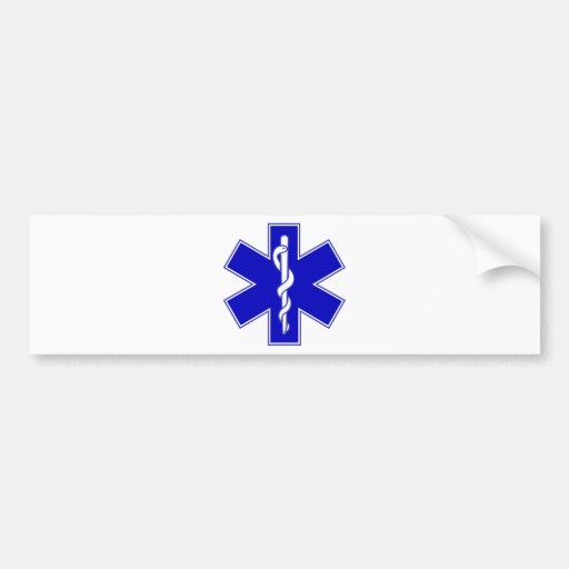 Star of Life Bumper Stickers
