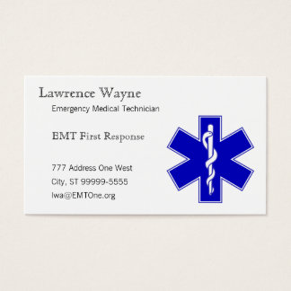 Star of Life Business Card