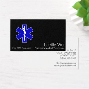 Ambulance service office products supplies zazzle star of life business card colourmoves