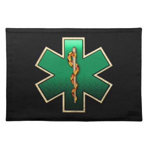 Star Of Life(Emerald) Placemats