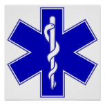 Star of Life EMS Poster