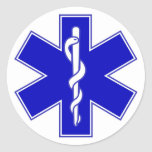 Star of Life EMS Sticker