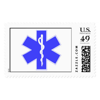 Star of Life, EMS Symbol Stamp