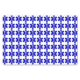 "Star of Life (EMT) 10"" X 15"" Tissue Paper"