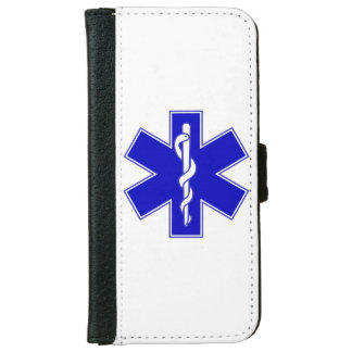 Star of Life (EMT) iPhone 6/6s Wallet Case