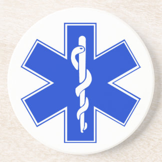 Star of Life / EMT Symbol Coaster