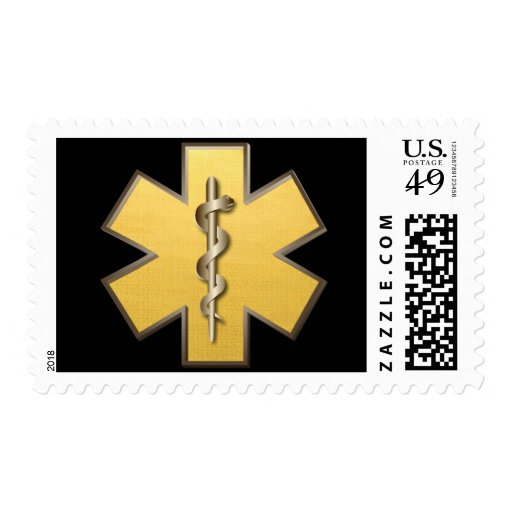 Star Of Life(Gold) Stamp