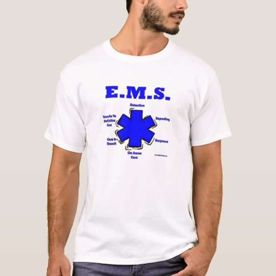 Star Of Life Meaning EMT Shirt