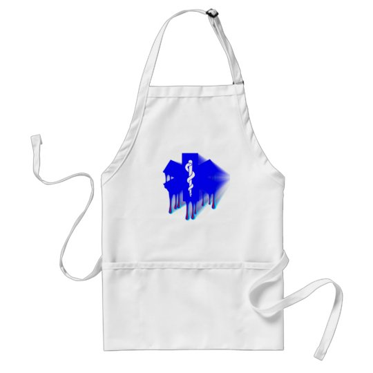 Star Of Life Melting Adult Apron