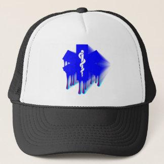 Star Of Life Melting Trucker Hat