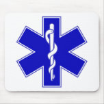 Star of Life Mouse Pad