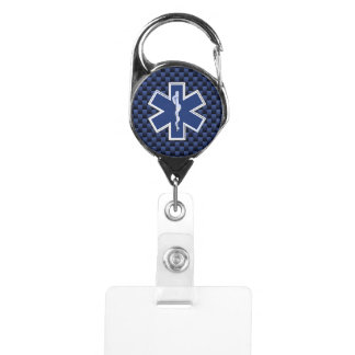 Star of Life Paramedic Emergency Medical Services Badge Holder