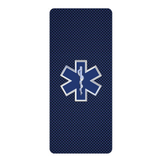 Star of Life Paramedic Emergency Medical Services Card