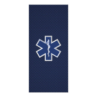 Star of Life Paramedic Emergency Medical Services Rack Card
