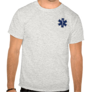 Star of Life Paramedic Emergency Medical Services Shirts