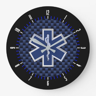 Star of Life Paramedic Services on a Large Clock