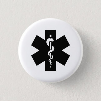 Star of Life Pictogram Button