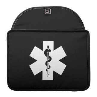 Star of Life Pictogram MacBook Pro Sleeve