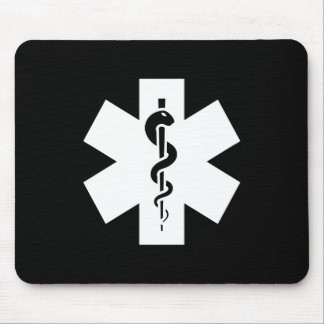 Star of Life Pictogram Mousepad