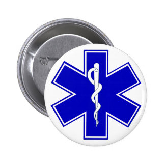 Star of Life Pinback Button