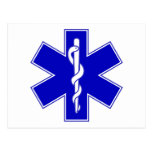 Star of Life Post Card