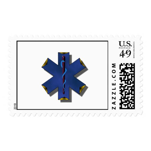Star Of Life Stamp