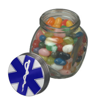Star of Life - tin Jelly Belly Candy Jars