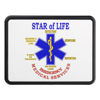 STAR of LIFE Tow Hitch Cover