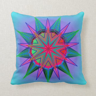 Star of Majesty Throw Pillows