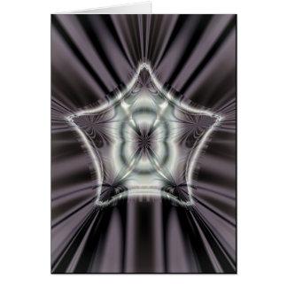 star of manifestation greeting card