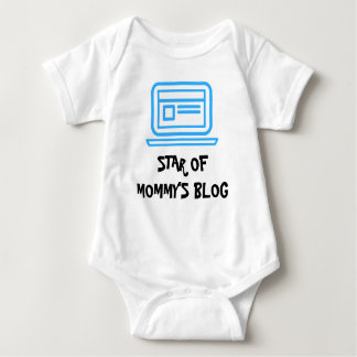 Star of Mommy's Blog Baby Boy Bodysuit