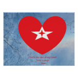 "Star of my Heart ""From Mom Posters"