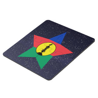 Star of New Caledonia Flag Puzzle Coaster
